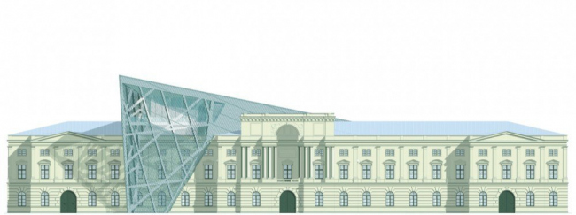 Музей военной истории - реконструкция © Studio Daniel Libeskind