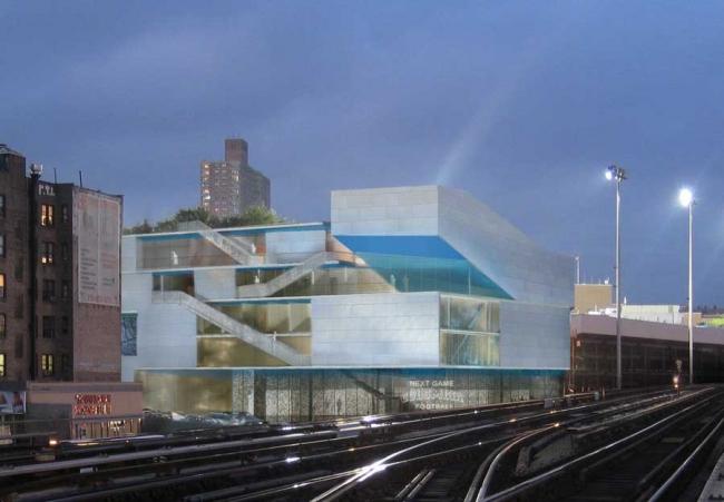 Спортивный центр Кэмпбелла Колумбийского университета © Steven Holl Architects