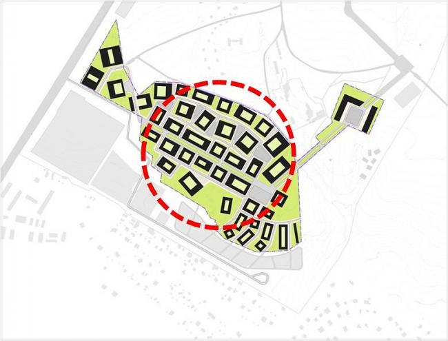 Проект жилищно-офисного массива