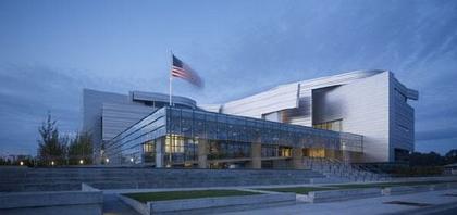 Комплекс Федерального суда имени Уэйна Морса. Фото Tim Griffith