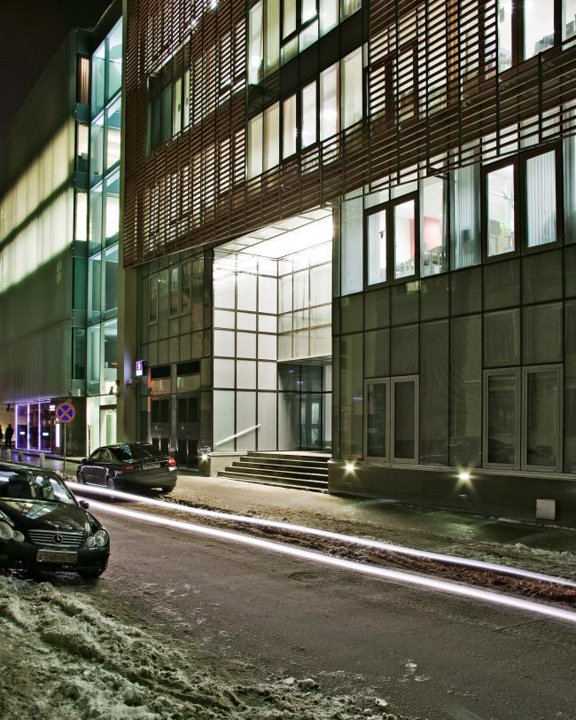 Офисное здание в Бутиковском переулке © АБ Остоженка