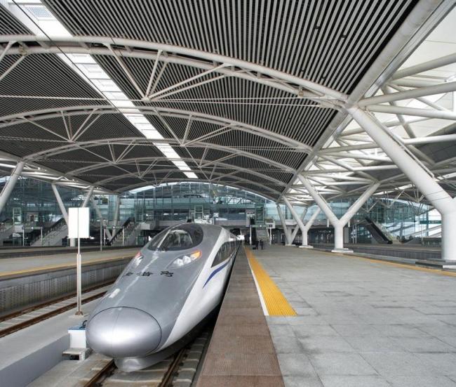 Южный Вокзал Гуанчжоу © TFP Farrells