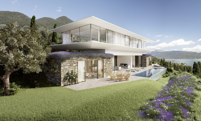 Комплекс Villa Eden Gardone. Villa.Matteo Thun ©Matteo Thun