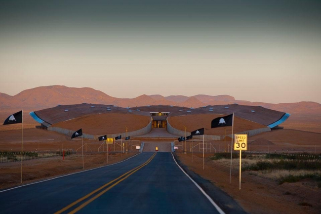 Космопорт Америка © Nigel Young/Foster + Partners