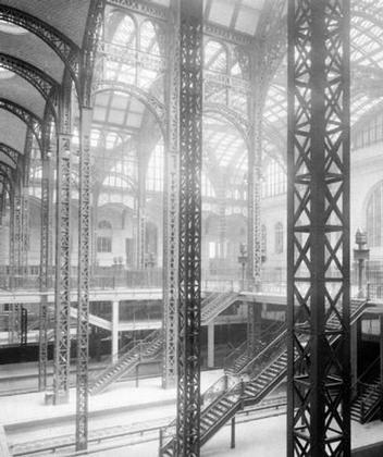 Фотография интерьера старого Пенсильванского вокзала