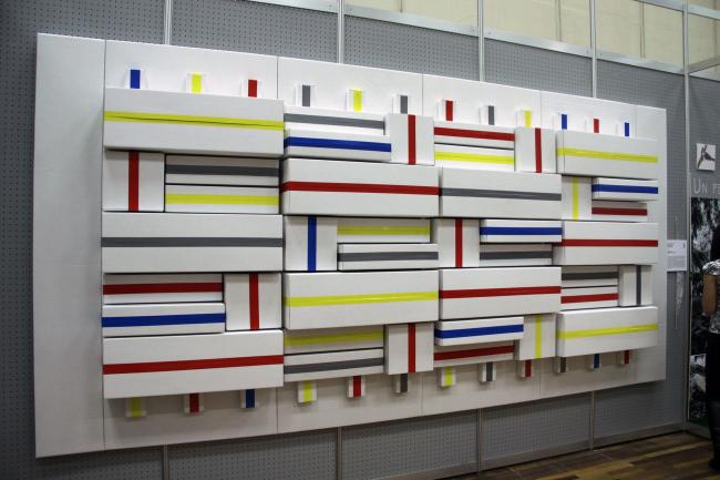 Инсталляция «Упаковка содержания». Арх.: Евгений Барсуков
