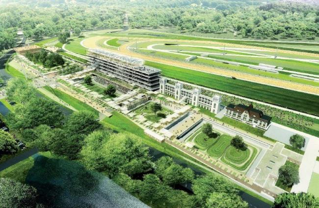Ипподром Лоншан - реконструкция © DPA / Adagp