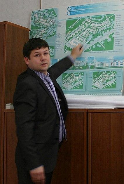 Алексей Королев, главный архитектор города Бор