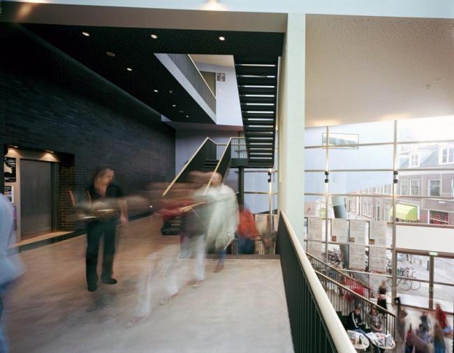 Театр Toneelschuur © Mecanoo Architects