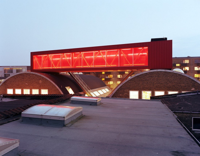 Молодежный центр Sjakket в Копенгагене © Vegar Moen