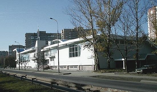 Учебно-спортивный, оздоровительный комплекс на ул. М.Филевская © ТПО «Резерв»