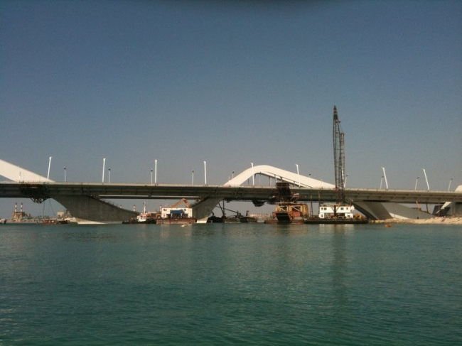 Мост Шейха Зайеда. Фото с сайта skyscrapercity.com
