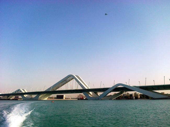 Мост Шейха Зайеда. Фото abdulameeri@yahoo.com с сайта panoramio.com