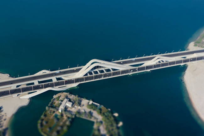Мост Шейха Зайеда. Фото Titanium007 с сайта flickr.com