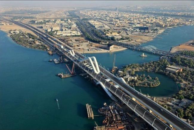 Мост Шейха Зайеда. Фото с сайта besix.com