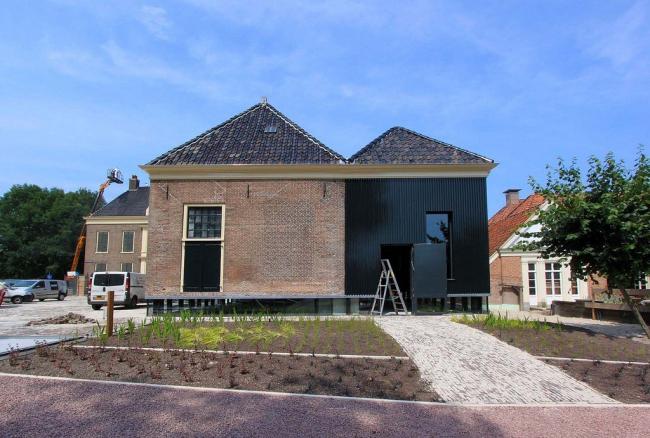 Новое крыло и вестибюль Музея Дренте © Drents Museum