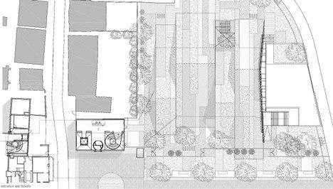 Новое крыло и вестибюль Музея Дренте © Erick van Egeraat