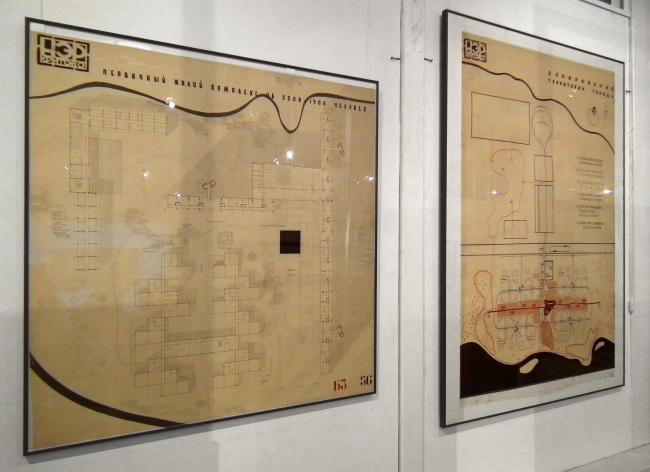 Выставка в галерее ВХУТЕМАС. Планшеты НЭР
