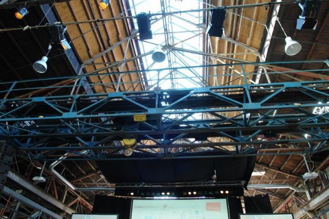 Конференция в День архитектуры проходила в реконструированном здании завода. Фото Нины Фроловой