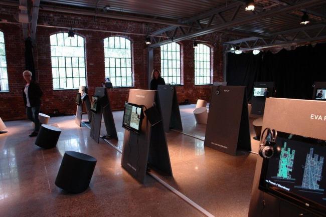 Выставка, посвященная открытым дискуссиям Года архитектуры. Фото Нины Фроловой