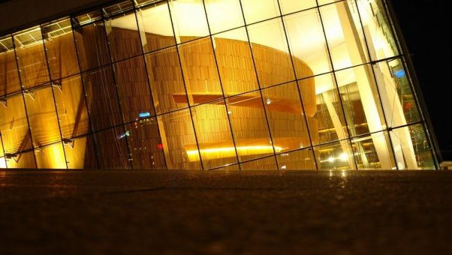 Национальный оперный театр в Осло. Бюро «Снохетта», 2007. Фото Нины Фроловой