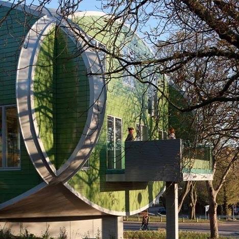 Онкологический центр Мэгги городской больницы Ноттингема © CZWG
