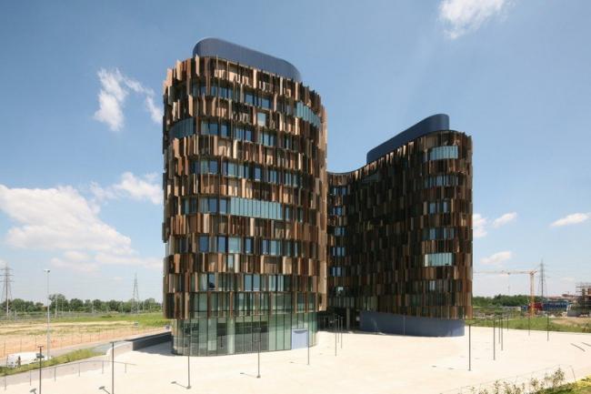 Офисное здание U15 в комплексе MilanoFiori 2000 © CZA - Cino Zucchi Architetti