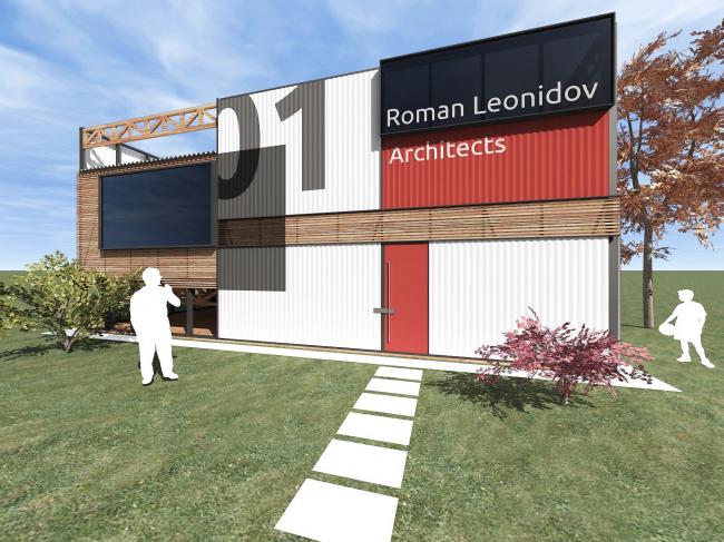 Дом для архитектора © Архитектурное бюро Романа Леонидова