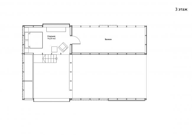 План третьего этажа