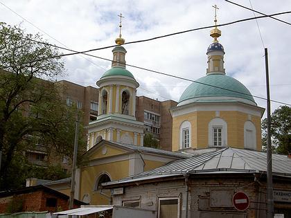 Церковь Тихвинской иконы Божией Матери в Сущеве. Фото: Олег Гусаров