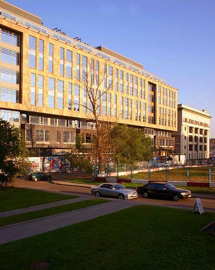 Офисный комплекс «Эрмитаж-Плаза». Фото: Николай Малинин