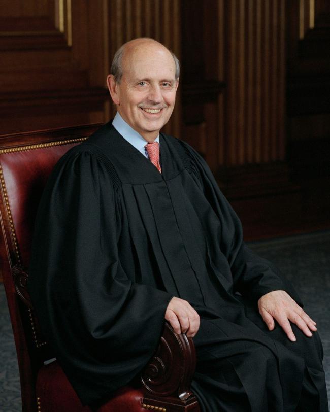 Судья Стивен Брейер. Фото © Steve Petteway