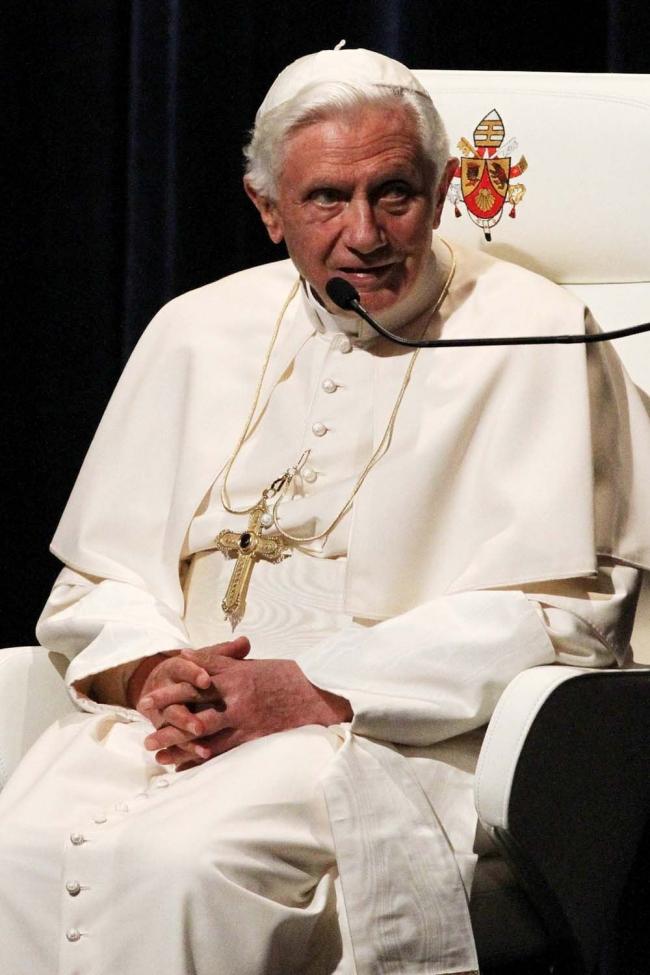 Бенедикт XVI во Фрайбурге. Фото © Benedikt Plesker / Erzbistum Freiburg