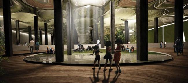 RAAD Studio. Проект подземного парка Delancey Underground в Нью-Йорке