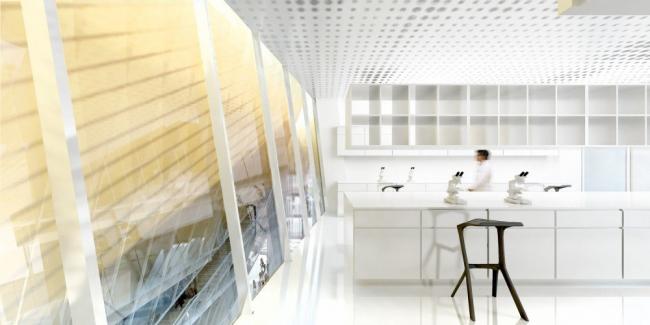 Исследовательский центр Paris PARC © BIG