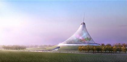 Норман Фостер. Хан Шатыры - развлекательный центр. Проект. Астана, Казахстан