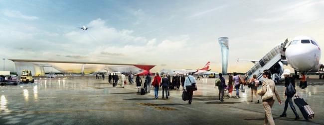 Международный аэропорт Кутаиси © UNStudio