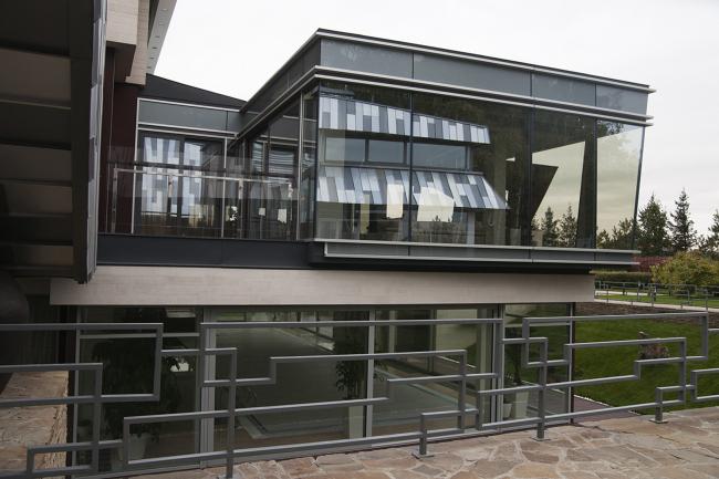 Надстройка дома в п. Николо-Урюпино © Архитектурное бюро «Тотемент/Пейпер»