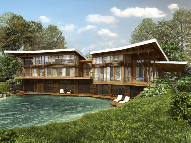 Индивидуальный жилой дом в поселке «Антоновка»