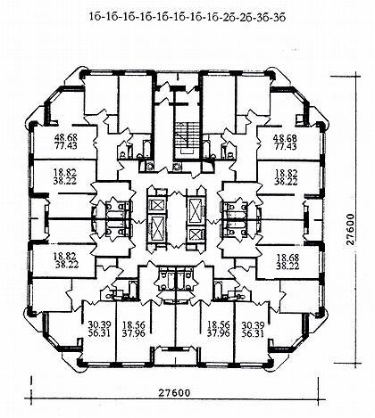 Планировки многоквартирных жилых домов за рубежом купить дом в паттайе цены