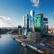 "Architectural concept of the mixed-use development ""Empire Tower – Second Stage"" as part of ""Moscow City"", Moscow"