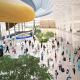 Интерьеры общественных зон терминала международного аэропорта «Большое Савино» в Перми