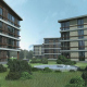 Residential complex with non-residential area and underground parking, Pozdnyakovo,