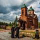 Храм-памятник Св. Георгия Победоносца в поселке Цвылево,