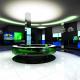 Проект вестибюля в здании телекомпании НТВ, Москва