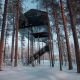 Вилла The 7th room в гостинице Treehotel,