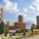 Архитектурно-градостроительная концепция застройки в Нагатинской пойме, Москва