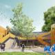 Реконструкция пешеходного моста в Московском зоопарк