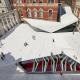 Реконструкция двора Музея Виктории и Альберта по улице Эгзибишн-роуд, Лондон