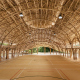 «Лотос» из бамбука